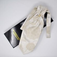Wedding Silk Ascot Tie