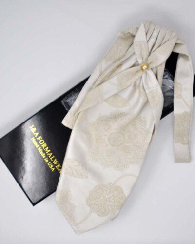 Wedding Silk Ascot Tie