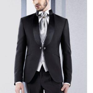 Italian Men Slim Fit Suit Tuxedo Miami