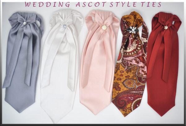 Ascot Ties Wedding