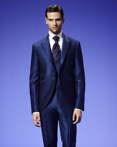 Italian Men Blue Suit