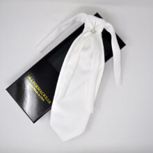 Wedding White Ties Men