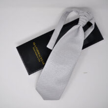 Groom Silver Neck Ties