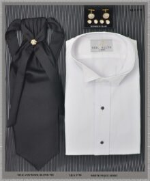 Miami Men's Black Formal Attire