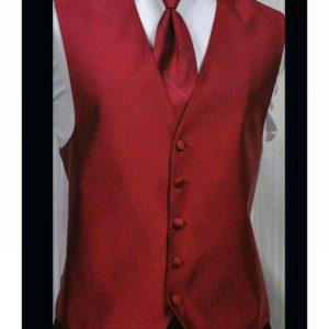 Red Tuxedo Accessories Miami Red Tuxedo