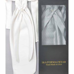 Wedding Men's Ascot Tie