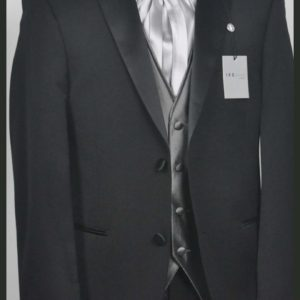 Groom White Gray Waistcoat.