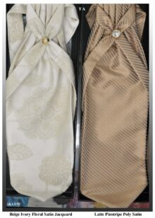 Victorian Groom Cravat Ties