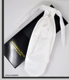 Groom's White Neckties