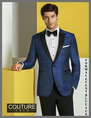 Blue Wedding Tuxedo.