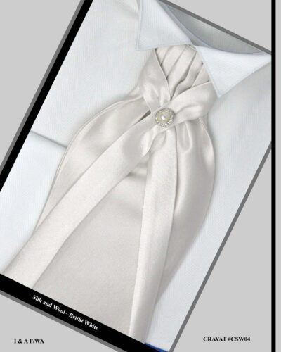 Groom White Tuxedo Accessories
