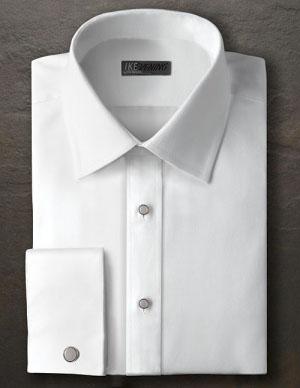 Groom White Tuxedo Shirt
