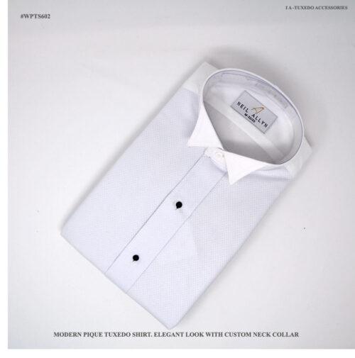 Tuxedo Wing Collar Shirts