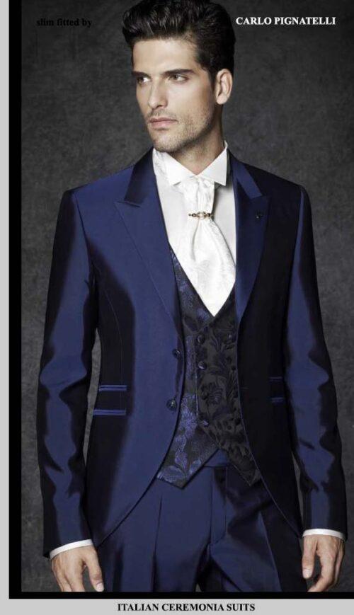 Groom Tuxedo White Tie